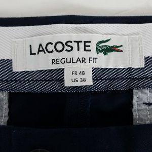 Lacoste Shorts - Lacoste Navy Blue Mens shorts sz 38 regular fit